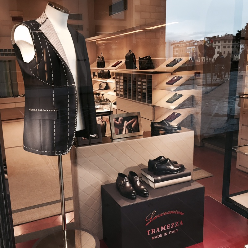 Salvatore Ferragamo Tramezza window