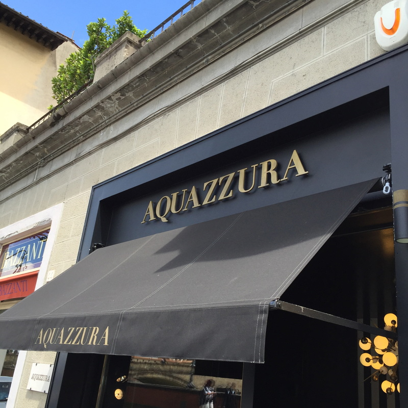 Aquazura, Shop in Florence