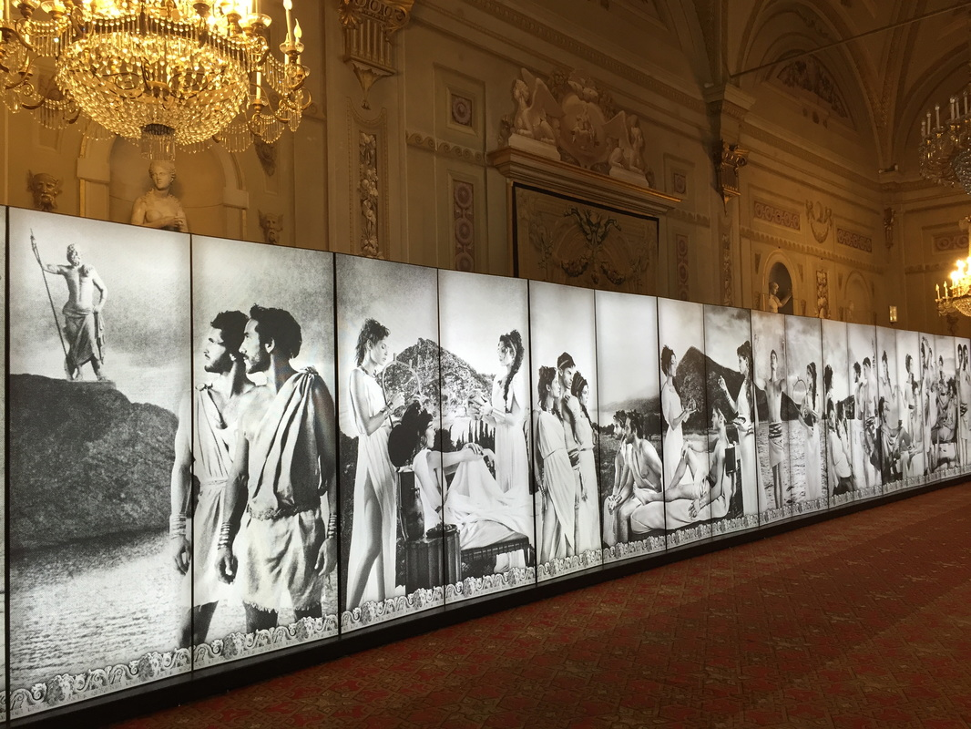 Karl Lagerfeld photo exhibition, Palazzo Pitti, Florence