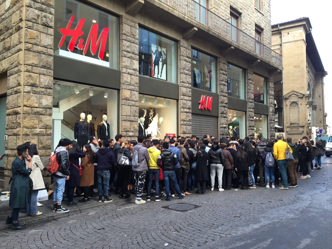 Balmain for H&M, Florence